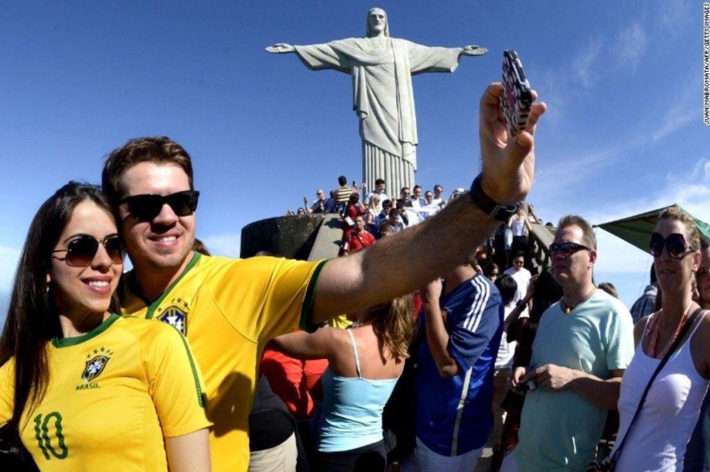 Travelers in brazil