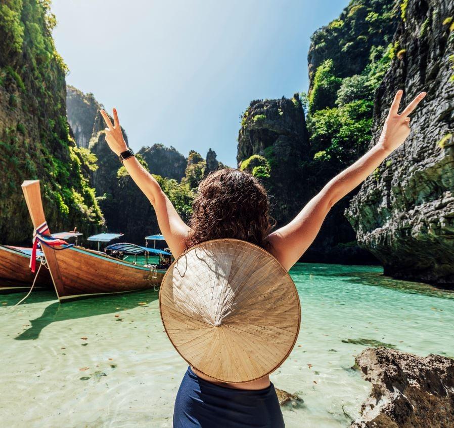 Women in Phi phi thailand
