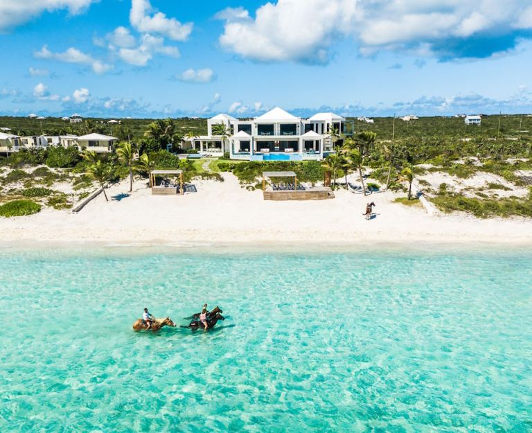 turks and caicos luxury ocean front villa