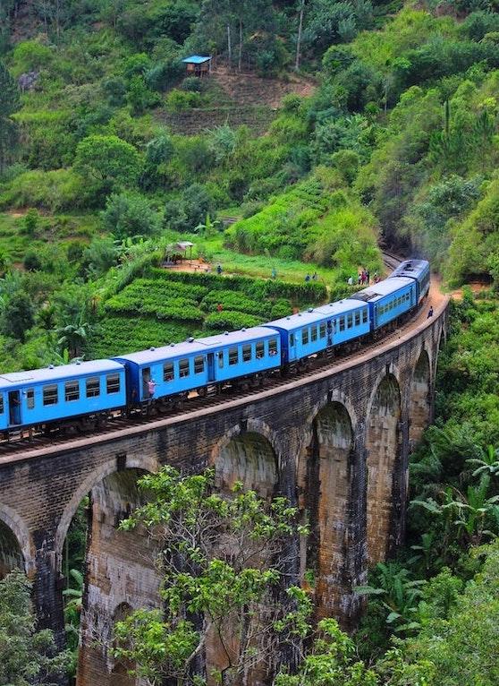 sri lanka train reopening to tourists