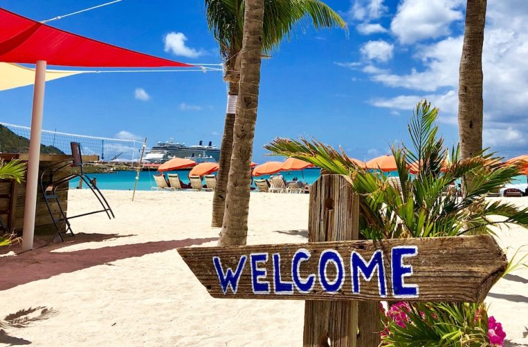 st maarten ends travel ban - now allowing usa travel