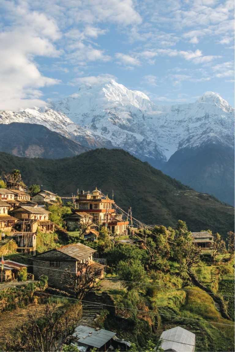 trekking town in nepal (2)