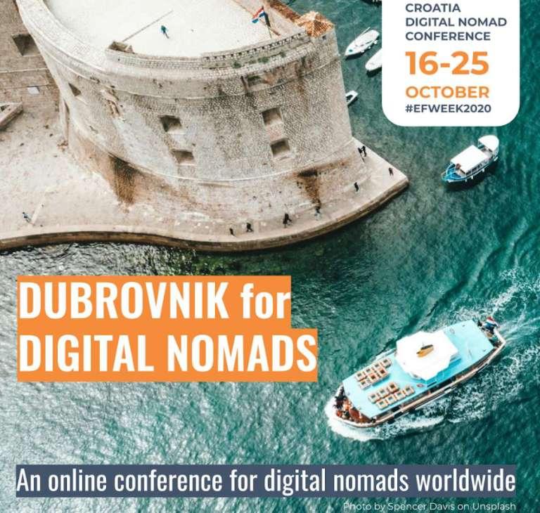 Dubrovnik for Digital Nomads Octover 16-25
