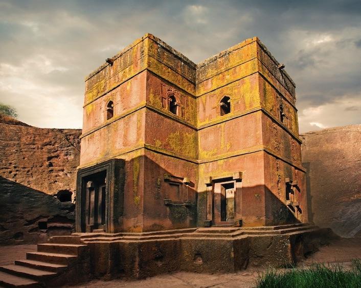 Saint George church in Lalibela, northern Ethiopia