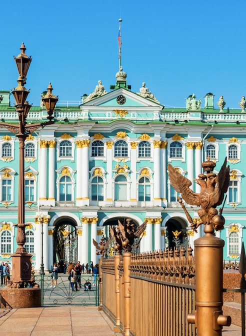 St Petersburg, Russia. Winter Palace