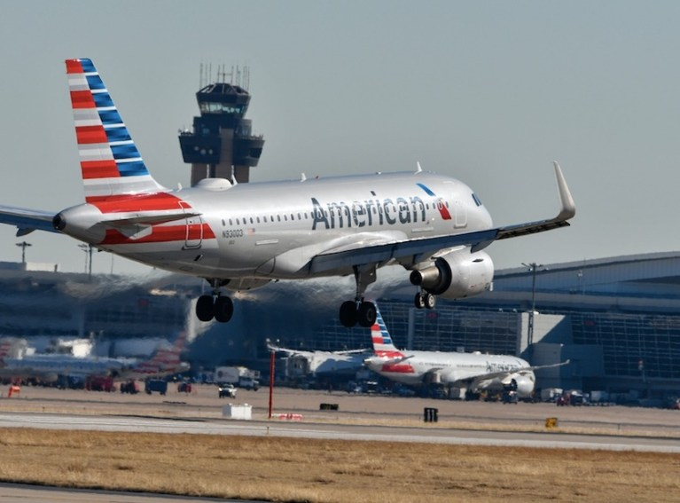 american airlines offers ocr test at DFW