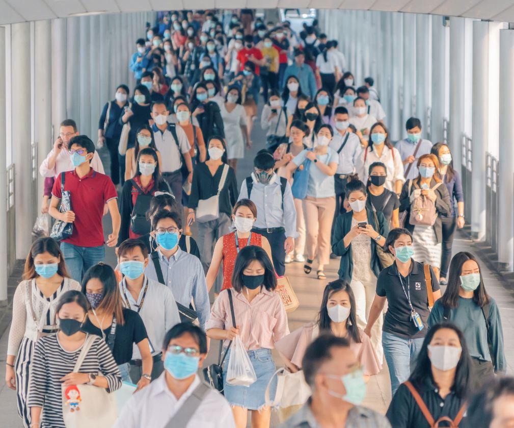 Thailand mask transit