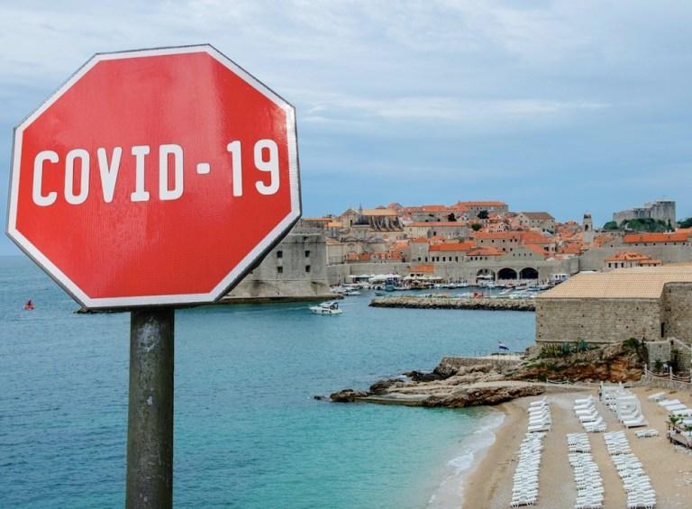 covid restrictions inside croatia