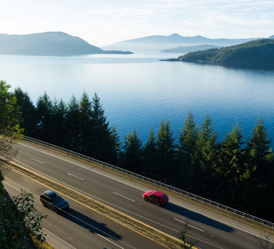 highway travel in bc