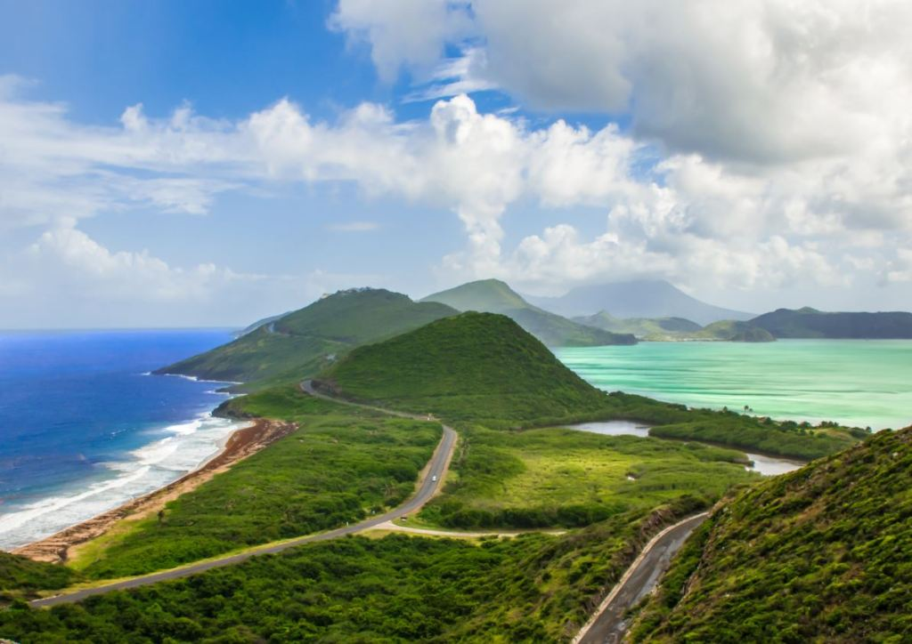 st. kitts and nevis two ocean view
