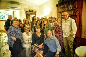 tour guests with Loire Chef
