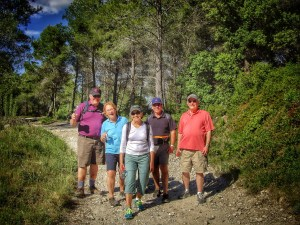 Walking tour southern France