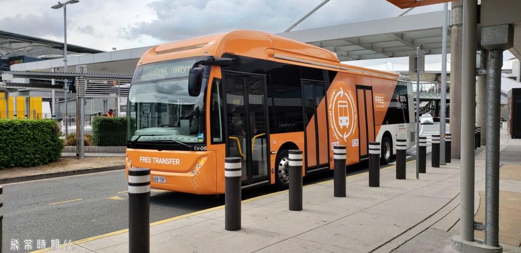 小心別上錯這架「Terminal Transfer Bus」巴士,因為都是橙色的! (圖二)