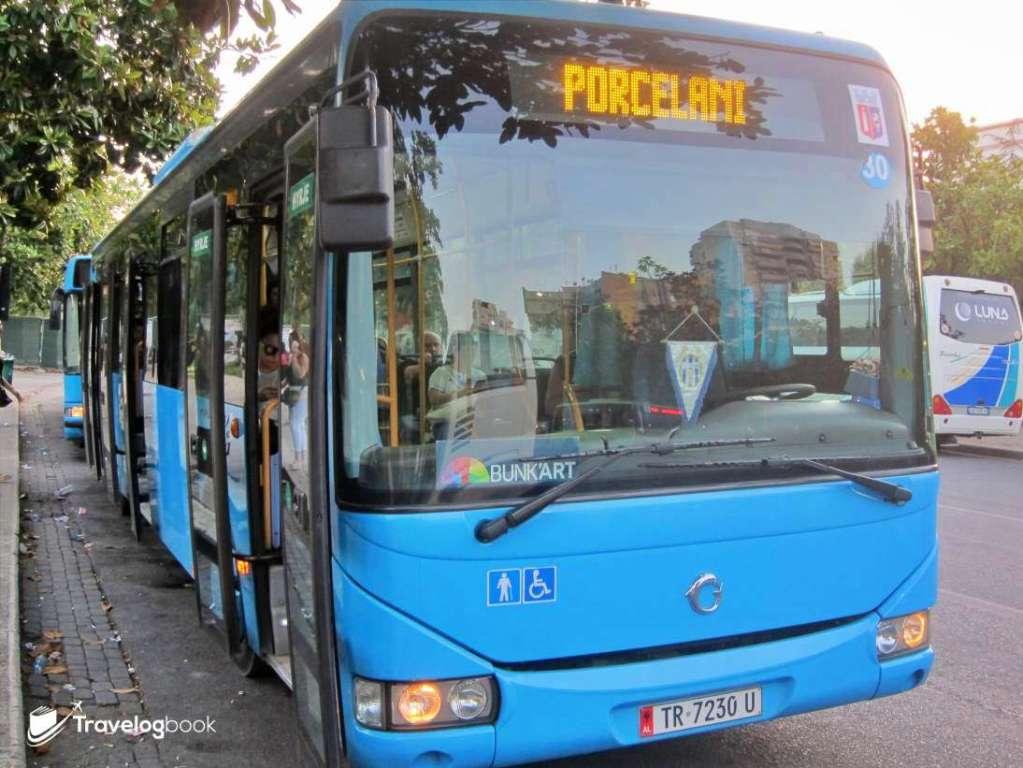 最穩妥當然是乘坐前方有BUNK'ART標記的巴士。
