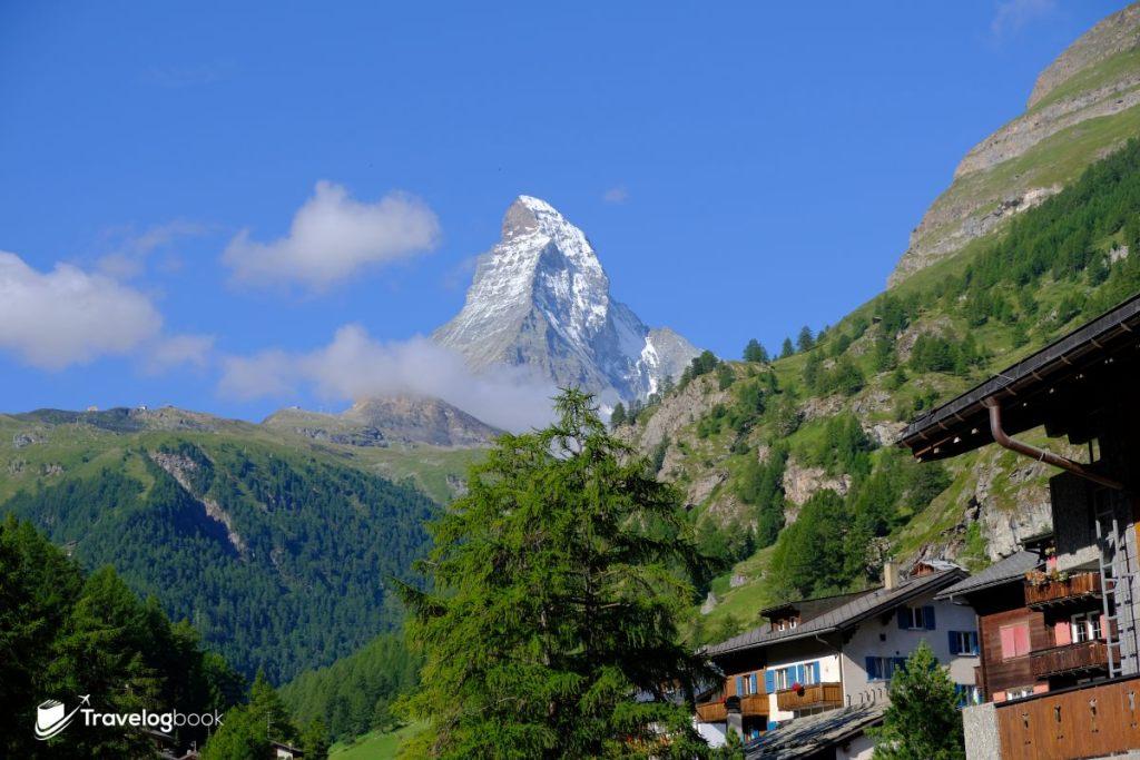 這麼近又那麼遠的馬特洪峰(Matterhorn),要見它一面,實在看緣分。
