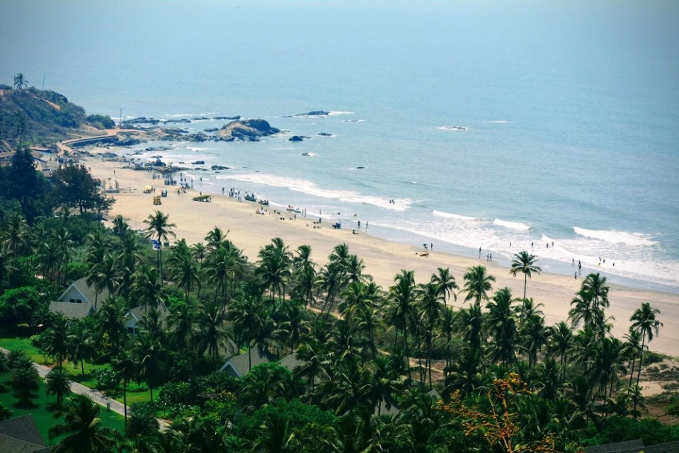 Chapora Beach Goa - travel guide for Goa