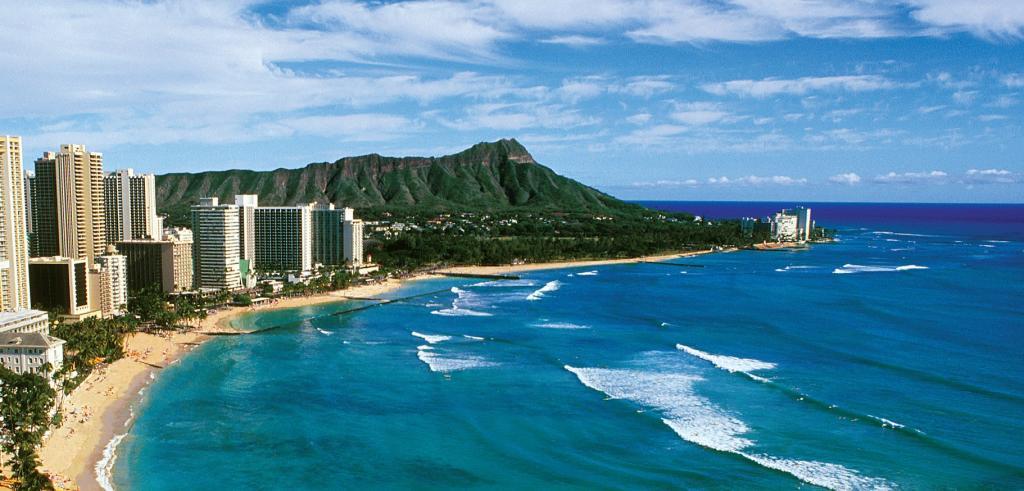 Waikiki Hawaii Map