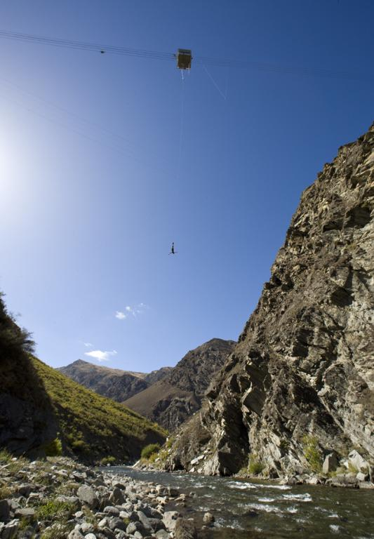 Nevis Bungy Queenstown Extreme Adventure