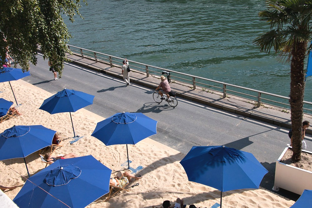 Paris Plages City Beach Beach Beach Seine