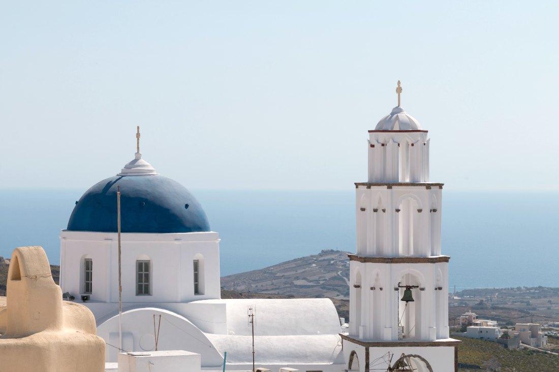 Pyrgos op Santorini