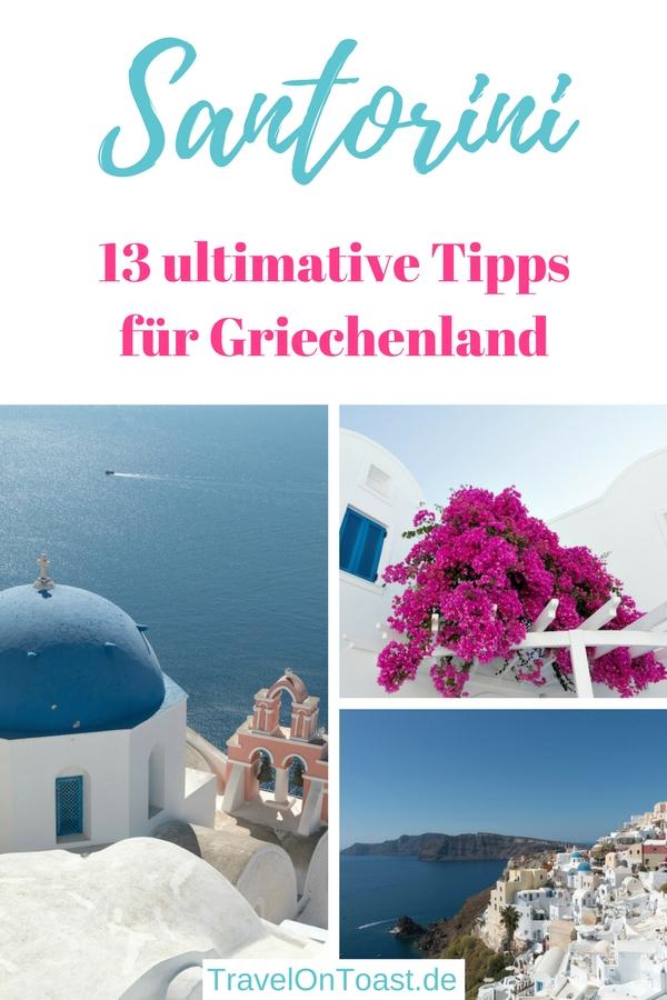 Santorini Griekenland (Cycladen Griekenland): De 13 beste Santorini-tips plus ongeveer 40 foto's van Santorini Griekenland - inclusief bezienswaardigheden zoals koepelkerken