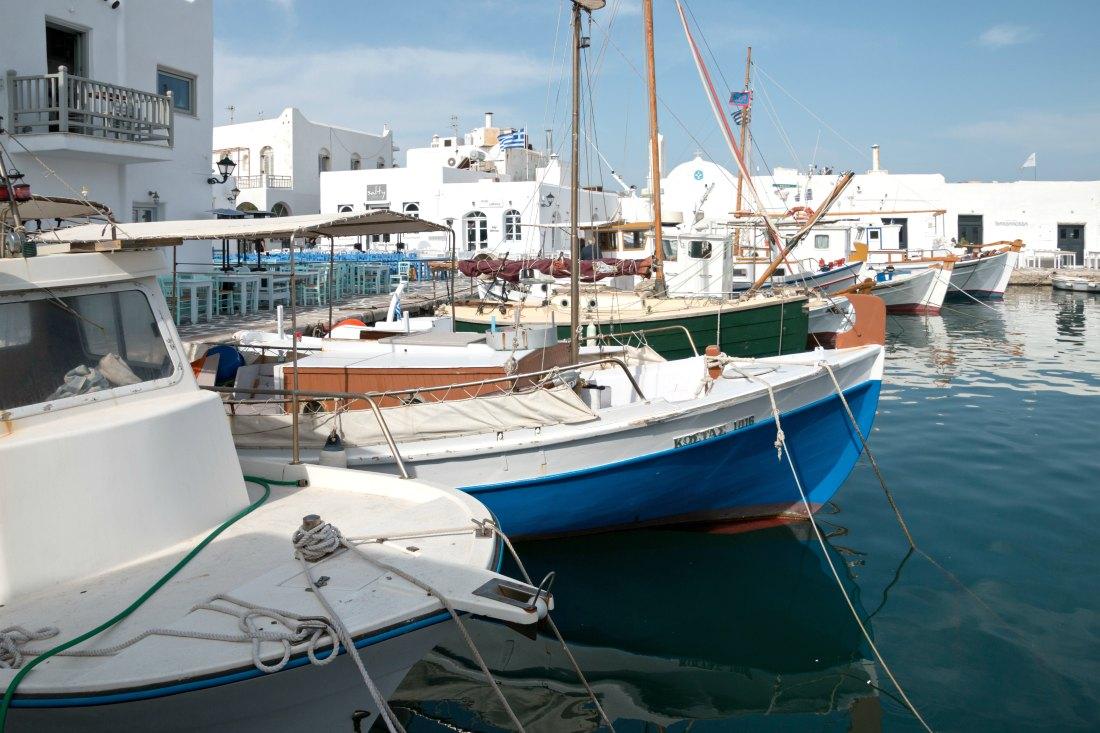 Naoussa op Paros in Griekenland