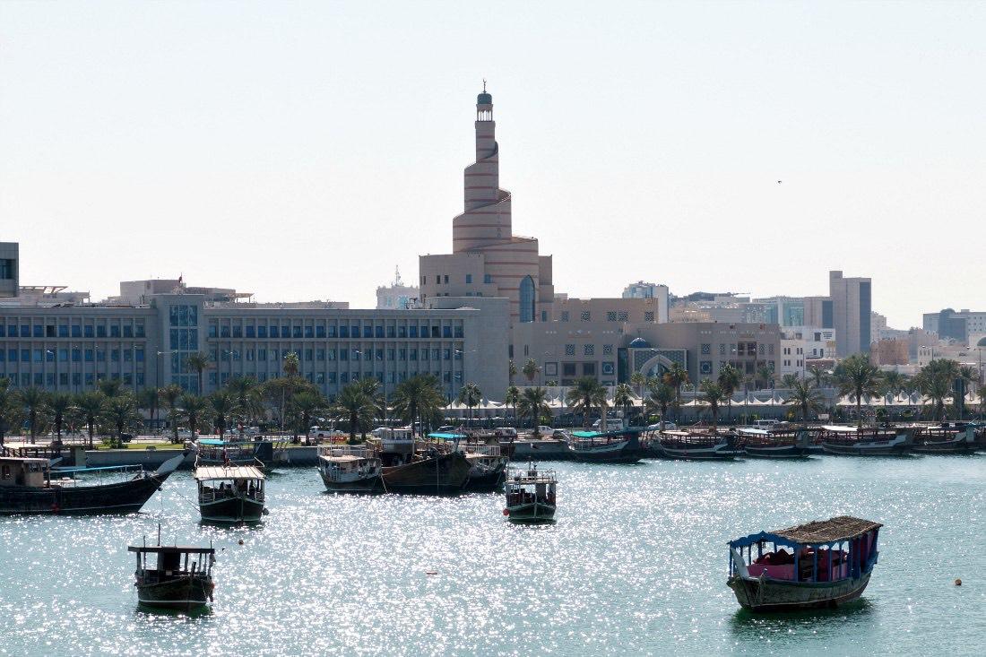 Doha alleen
