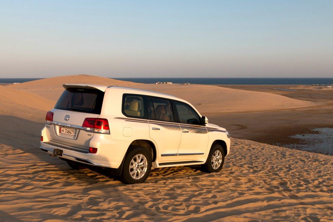 Doha woestijnsafari in jeep