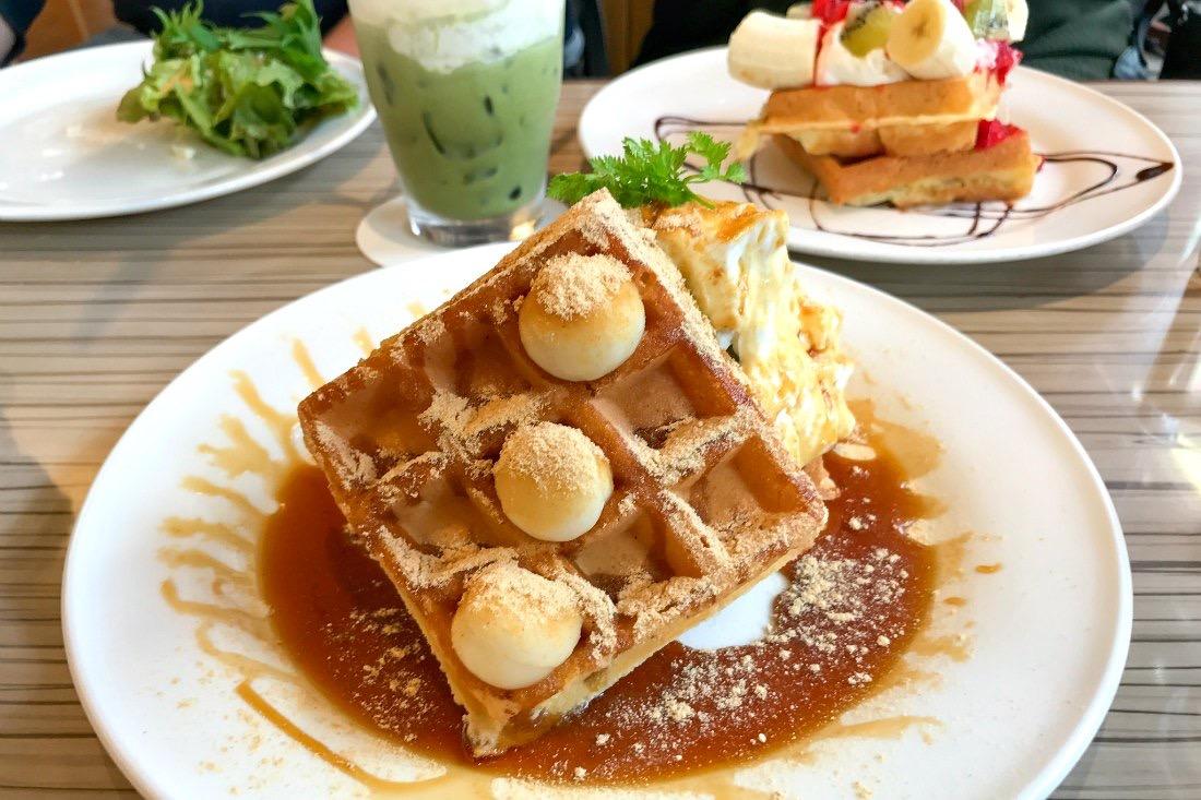 Waffle in Harajuku