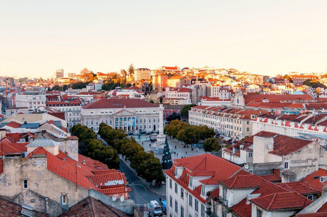 Lissabon in de winter