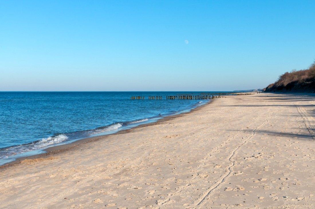 Strand in Kołobrzeg