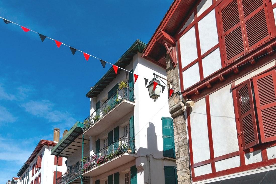 Baskische huizen
