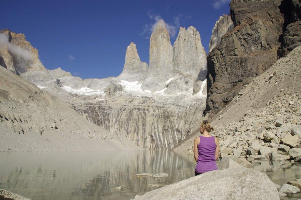 Trekking im Torres del Paine Nationalpark in Chile