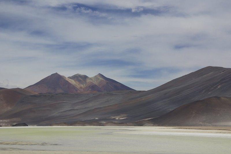 Malerische Berge bei Atakama
