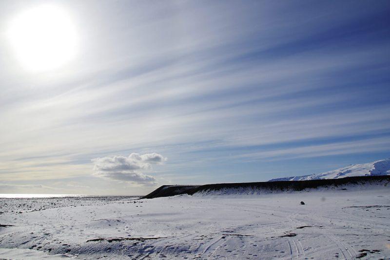 Gletscher Vatnajoekull auf Island