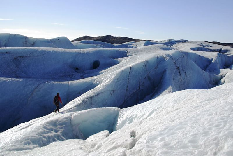 Gletscherwanderung auf dem Vatnajökull in Island