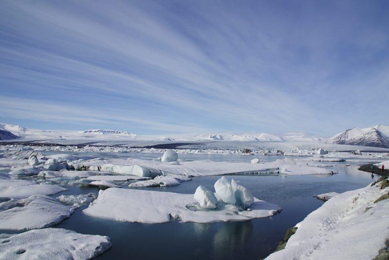 Gletschersee Jökulsarlon auf Island