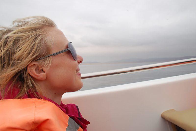 Motorboot Fahrt von Paracas