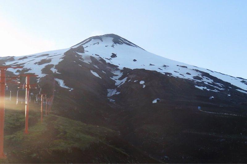 Aktive Vulkane in Chile: Villarica
