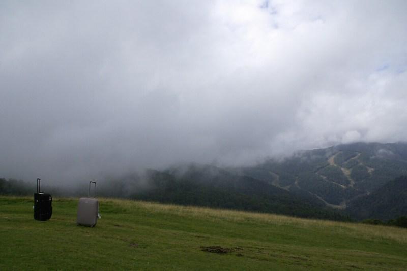 Gebirge bei Kolasin in Montenegro