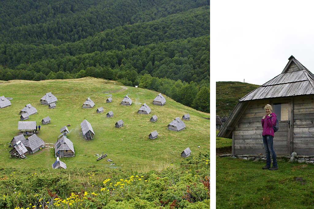 Eco Village der Villa Jelka in Kolasin