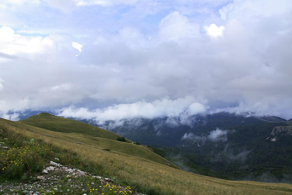 Dinaisches Gebirge in Montenegro