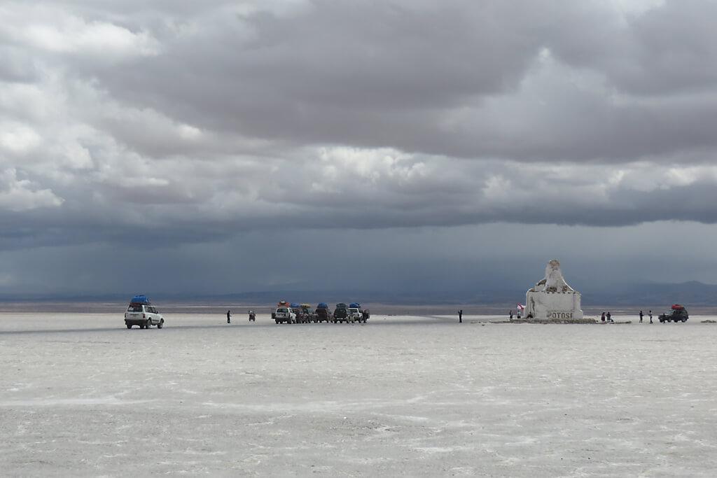 Reise durch die Salar de Uyuni
