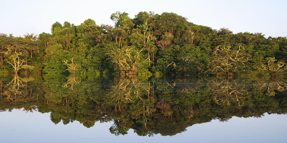 Laguna Grande im Amazonas-Gebiet
