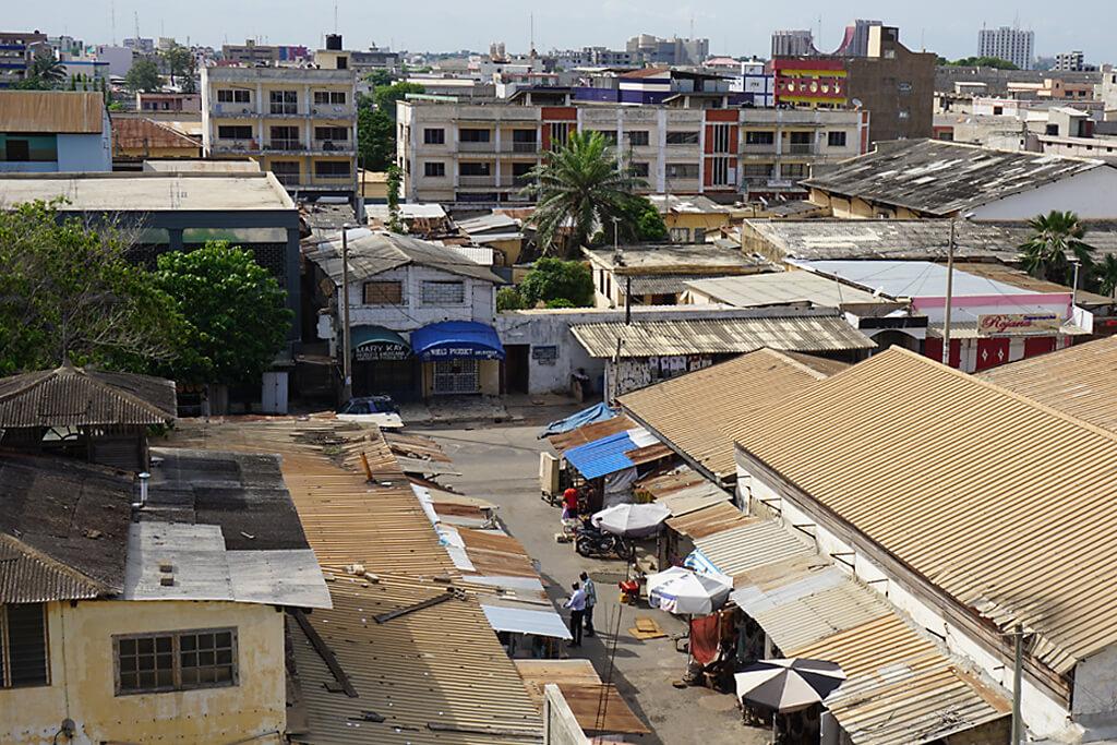 Stadtzentrum vom Lome