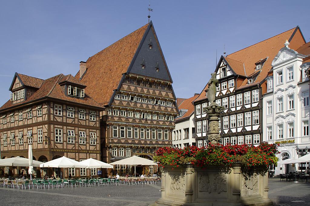 Historischer Marktplatz von Hildesheim