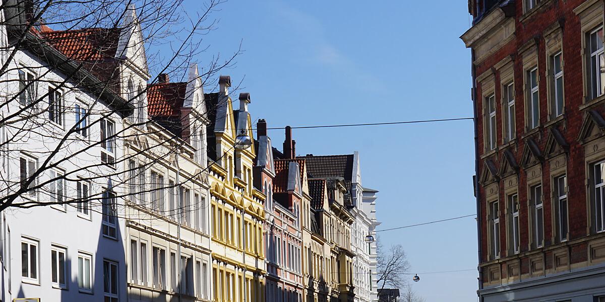 Altbau in der Nordstadt Hannover