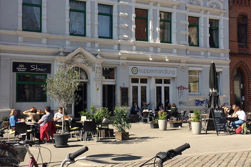 Straßencafés in der Nordstadt Hannovers