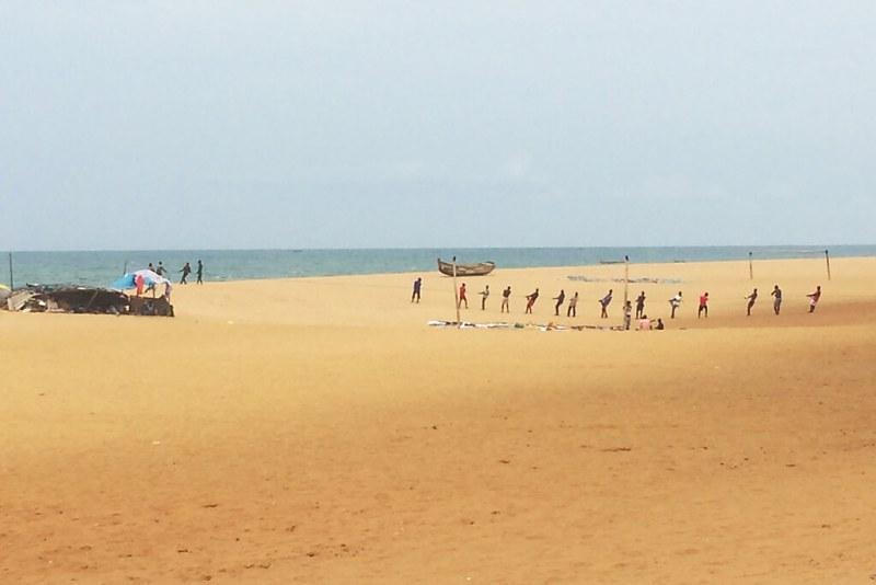 Fischerei in Lome, Togo