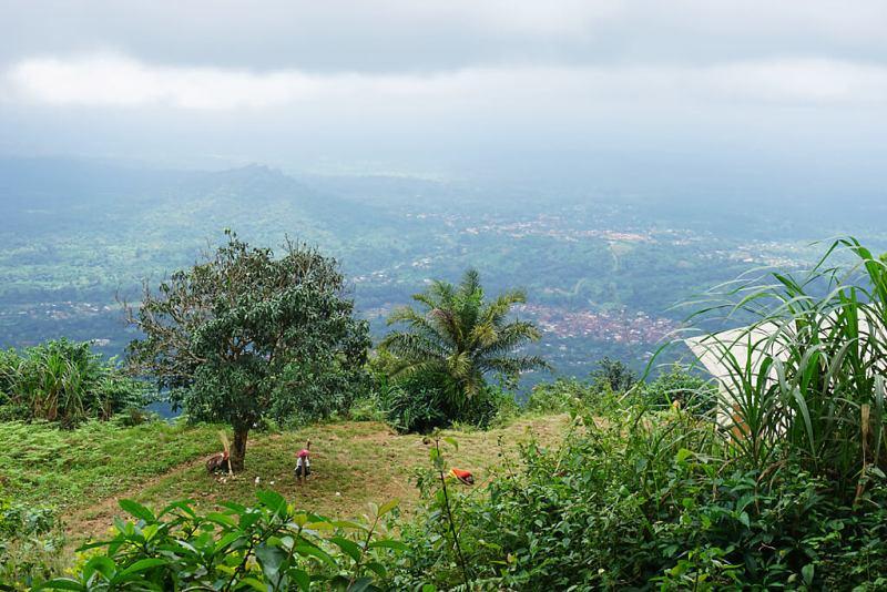 Wanderung Togo am Mount Agou